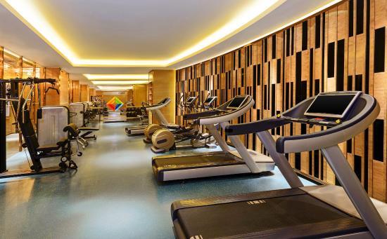 Huzhou, China: Fitness Center