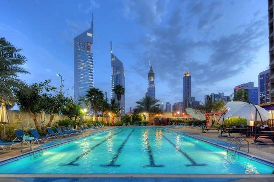 The Apartments Dubai World Trade Centre: Pool Shot