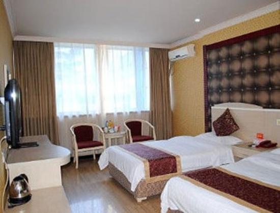 Super 8 Hotel Chengdu Tai Sheng Lu: Twin Bed Room