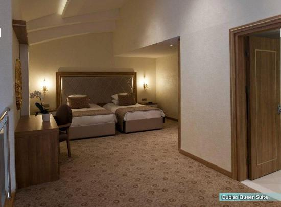 NG Afyon Wellness & Convention: Dublex Queen Suite