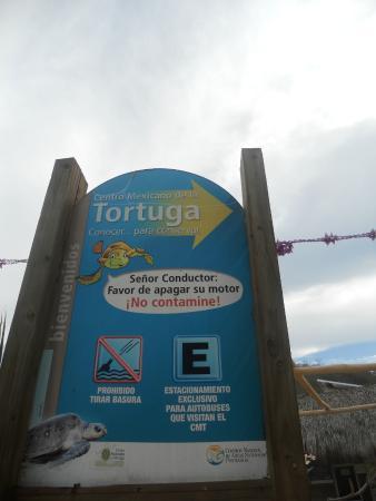 National Mexican Turtle Center (Centro Mexicano de la Tortuga): Entrance