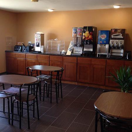 Super 8 Diamondville Kemmerer: Breakfast Area