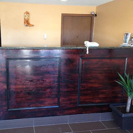 Diamondville, WY: Front Desk