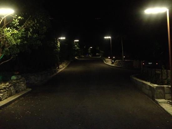 One On Marlin : Street View Inside Property At Night