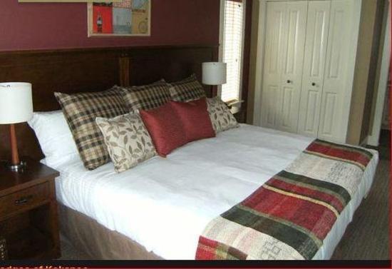 Kokanee Springs Golf Resort : Guest room