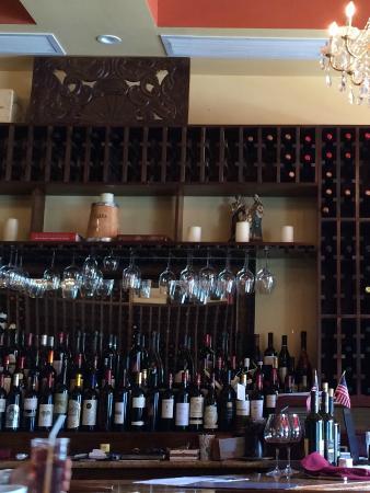 Joseph's Wine Bar & Cafe: Bar view