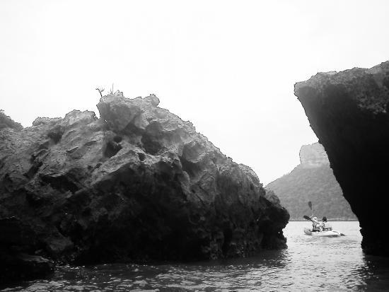 Awe Resort : Canoeing