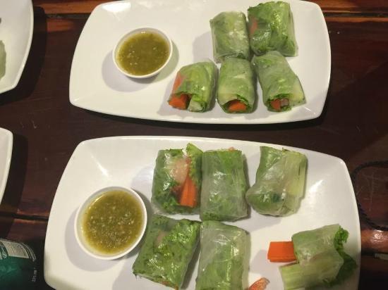 K.P. Food: spring roll
