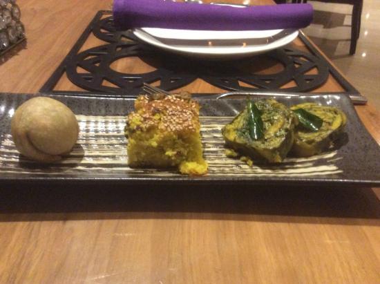 Shakahari : Kachori, Handva & Patra.... appetizers