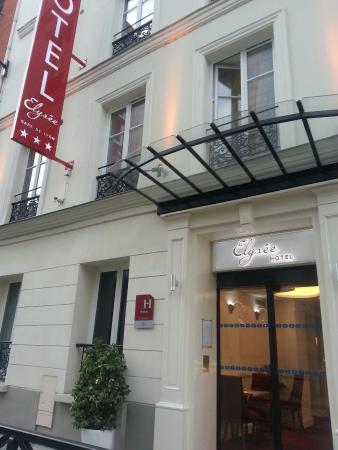 Hotel Elysee Gare de Lyon : Façade