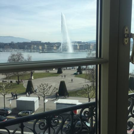 Hotel Beau-Rivage Geneva: Room view