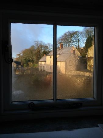 The Manor House B&B: The view from one of my loft windows on a frosty February morning