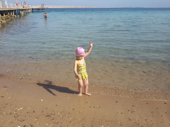 MinaMark Beach Resort : شاطئ البحر