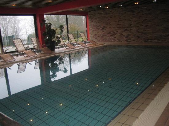 La Clairiere : très grande piscine