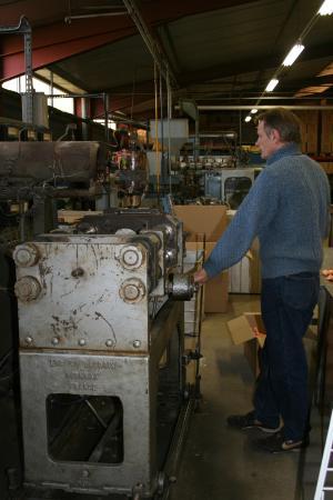 Musee Petitcolin : usine PetitCollibn