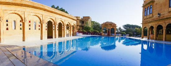 Swimming Pool Photo De Hotel Rang Mahal Jaisalmer Tripadvisor