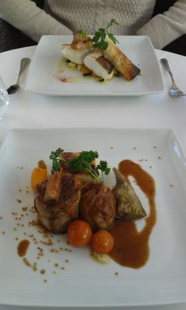 Cafe Tiburon : bacalao y cordero