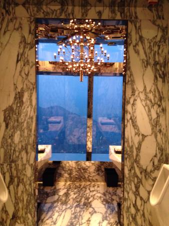 Men S Bathroom Picture Of Ozone Hong Kong Tripadvisor