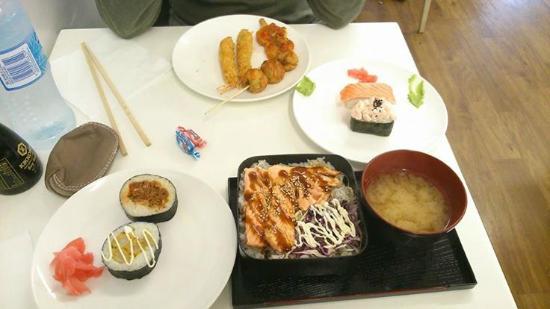 Kia Ora Japan: La formule du midi + quelques extras