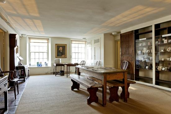 The New Room/John Wesley's Chapel: Museum above the chapel where the preachers stayed when in Bristol