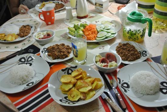 Casa Particular Isel e Ileana Havana: Dinner