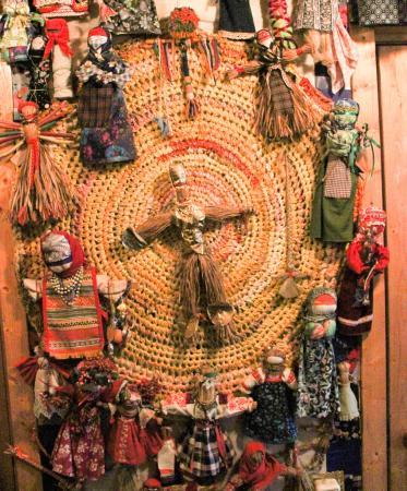 Kozlovo, روسيا: Календарь традиционных кукол