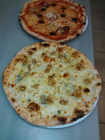 Pedreguer, Espagne : pizza blanca