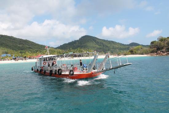 Redang Bay Resort : As we reach redang