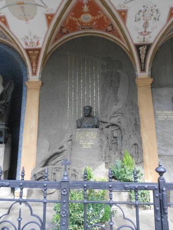 National Cemetery: Final resting place of Antonín Dvořák