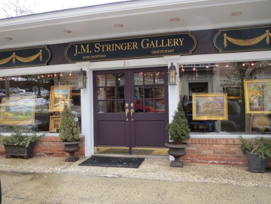 Bernardsville, Нью-Джерси: J.M. Stringer Gallery