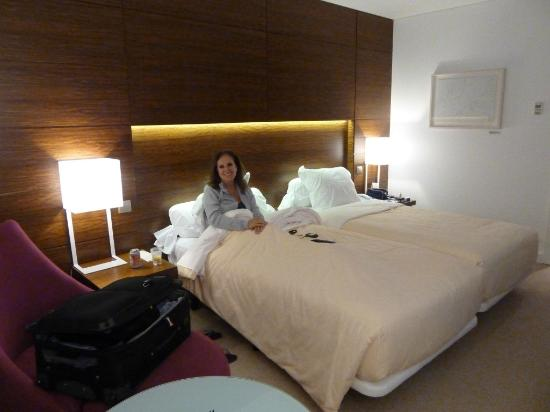 Santa Maria Hotel -- Fatima: Quarto do Hotel Santa Maria em Fátima