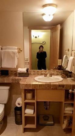 The Lodge at Vail, A RockResort: Achei o banheiro lindo.