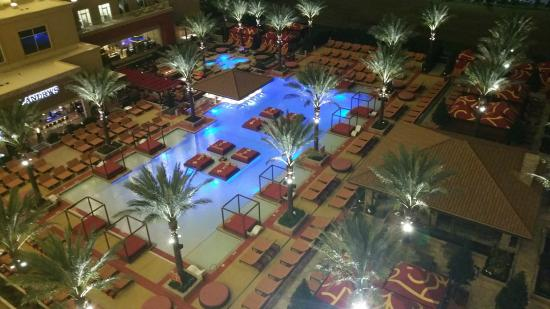 Pool View From Balcony Of 924 Picture Of Golden Nugget Hotel Lake Charles Tripadvisor