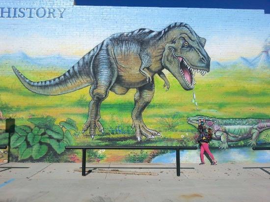 Seymour, TX: Amazing Murals!