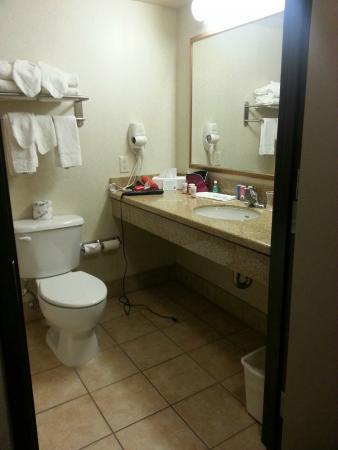Comfort Inn & Suites Yuma: Bathroom