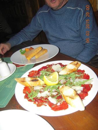 Svejk restaurant U Petra: Холодная закуска