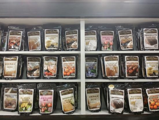 Mulberry Mill: We have a great selection of gluten free items