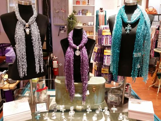 Mulberry Mill: Dress up your scarf with our scarf charms