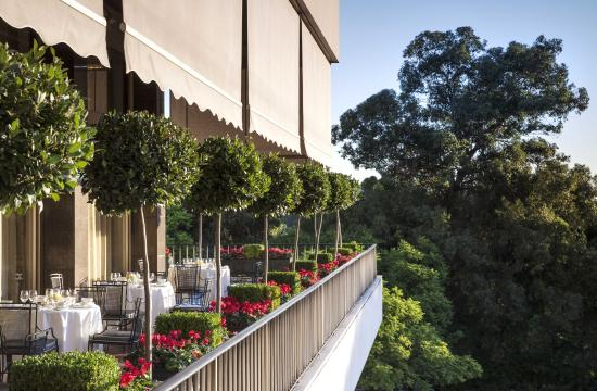 Four Seasons Hotel Ritz Lisbon: Varanda Restaurant Terrasse