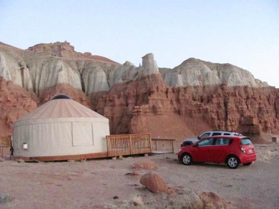 Goblin Valley State Park Yurt 2