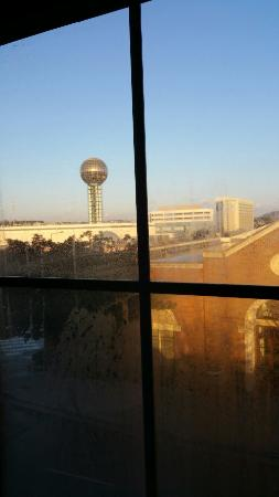 Hampton Inn & Suites Knoxville - Downtown : View from the room.