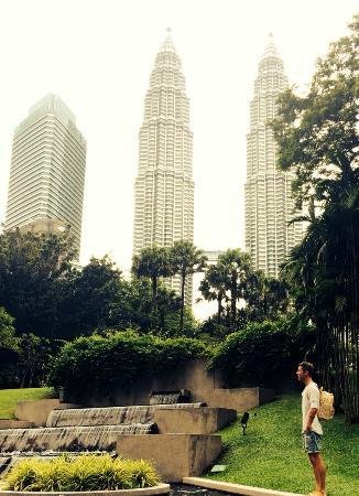 Perdana Botanical Garden: Tower view @ Lake Gardens-Park