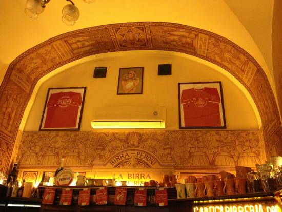 L'Antica Birreria Peroni : Locale