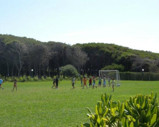 Villaggio Paestum: Campo da calcio