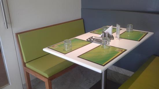 Vihar Coffee House Table Set Up & Table Set Up - Picture of Vihar Coffee House Mumbai - TripAdvisor