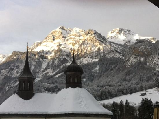 Gasthaus Grafenort: View from our bedroom!