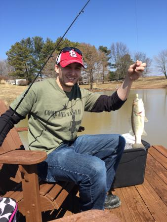 The Goddard Place : Catching some fish