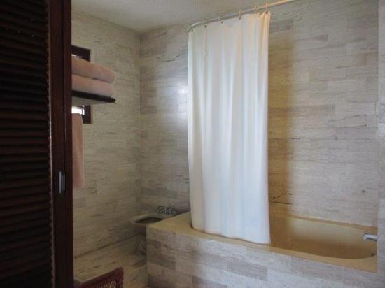 Condumel Condobeach Apartments: Shower
