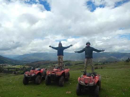 Peru Moto Tours : Cusco Tour 4 Wheeler!