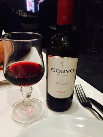 Tien Tsin: Great wine. 8 euro for half a bottle.